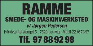 Ramme Smede & Maskinværksted