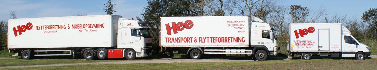 Hee Flytteforretning & Møbelopbevaring