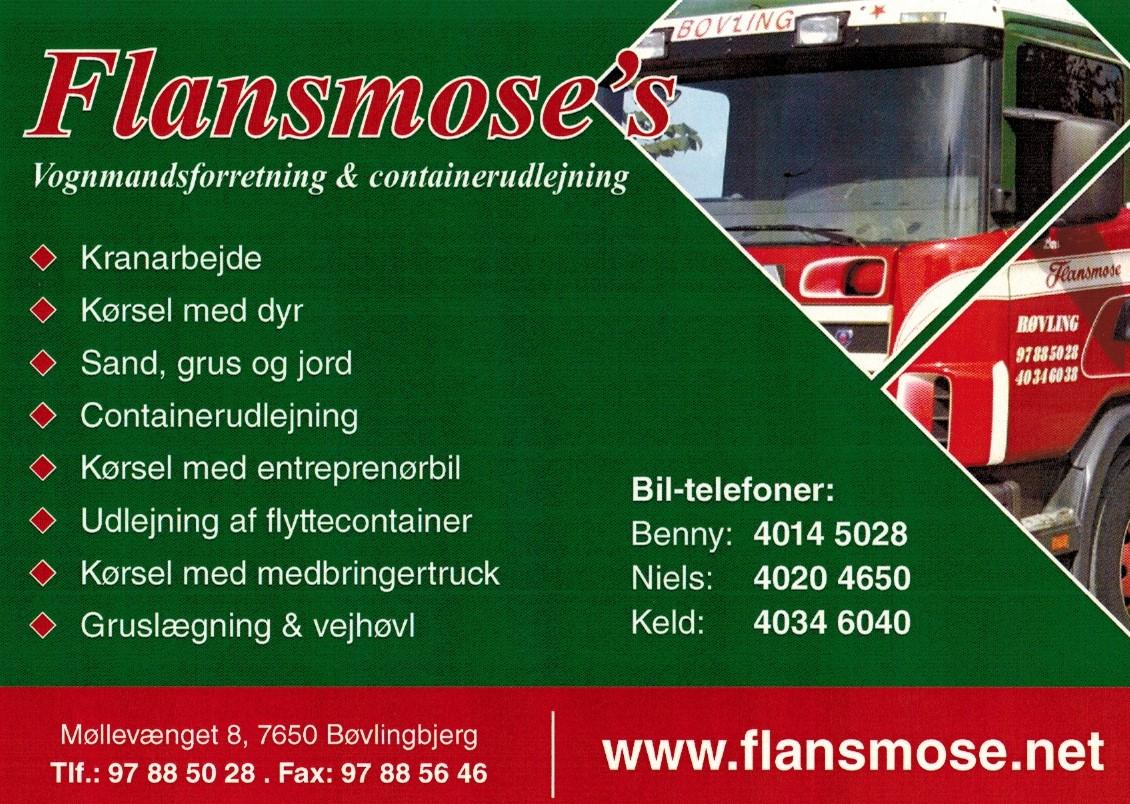 Flansmose's Vognmandsforretning