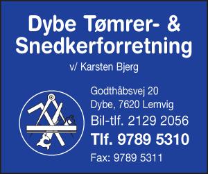 Dybe/Bøvling Tømrer- og Snedkerforretning