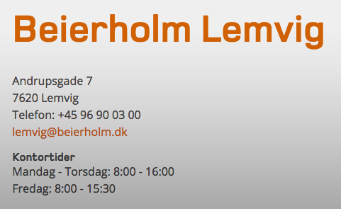 Beierholm Lemvig